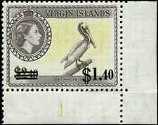 Virgin Islands Scott #138 SG #172 Plate # Single Mint Never Hinged