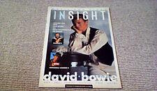 INSIGHT 1990 DAVID BOWIE THE BEATLES IRON MAIDEN TOM HANKS BIG SUZANNE VEGA UB40
