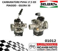 01012 CARBURATORE PHVA 17,5mm ED DELL'ORTO (Piaggio/Gilera) ARIA AUTOMATICA