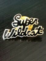 Vintage Collectible Super Wildcat Colorful Metal Pinback Lapel Pin Hat Pin