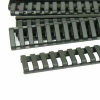 """24 PCS 7"""" Heat Resistant Low Profile Rail Cover Fits Weaver Picatinny Rails"""