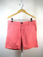 CURRENT ELLIOTT Bubble Pink Cotton Captain Roll Short Size 28