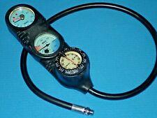 Mares Mission Konsole mit Finimeter, Kompass, Thermometer und Tiefenmesser, §
