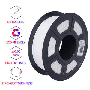 3D Printer Filament 1.75mm White PLA For 3D Printing Consumables 500g/1kg