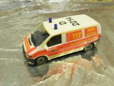 """** Herpa 278812 Mercedes-Benz Vito Cargo Van """"Duesseldorf Fire Department"""" 1:87"""