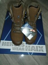 HAIX DESERT COMBAT HIGH LIABILITY WOMENS BROWN SUEDE BOOTS SIZE 5M NEW