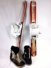 SNOWBLADES, Five-Forty 99cm Titan, w/SnowJam Snowboard Bindings and 'nice' Boots
