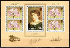 Jersey - 1986 Lilies - Mi. Bl. 4 MNH