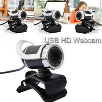 PC HD Webcam Desktop Laptop Webkamera Eingebautes Mikrofon Für Laptop Computer