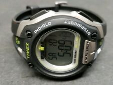 Timex Men's Ironman Triathlon Watch Alarm Chronograph Indiglo New Battery Nice
