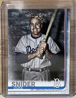 2019 Topps Series 2 #665 Duke Snider - Brooklyn Dodgers. Short Print.