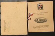 DOMINICAN REPUBLIC Incredible Beautiful 1948 S/S Booklet In Or. Envelope Z2/38*