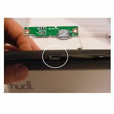 Tesco Hudl 1 Port to Replace Broken USB Power Jack Connector Power Charge Board