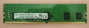 New Hynix 8GB DDR4-2666 1Rx8 PC4-21300 ECC 288Pin Server Memory HMA81GR7AFR8N-VK