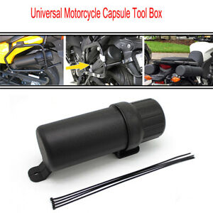 Universal Motorcycle Capsule Tool Box Case Bag Storage Accessories Waterproof