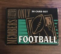 1994 Topps Stadium Club NFL Football Members Only - 50 cards -Elway, Rice, Deion