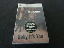 THE BEATLES BABY IT'S YOU RARE SEALED CASSINGLE IN CARD SLEEVE!