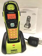 Uniden DWX207 Sumergible Teléfono Inalámbrico DECT 6.0, Batería Nuevo y base de carga