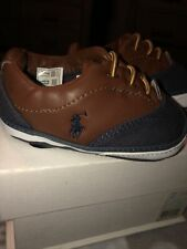 New In Box: Baby Boy Ralph Lauren Shoes. Size 2