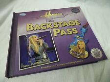 Hanna Montana Miley Cyrus Backstage Pass Book Disney Press 2008