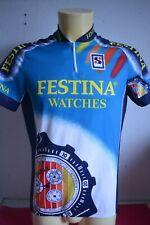 Vintage retro Maillot cycliste cyclisme FESTINA Tour de France  VIRENQUE !!!!!!!
