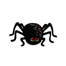 Spider Animal Tarantula Cute Cartoon Kid Halloween Jacket backpack Iron on Patch