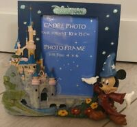 Disneyland Paris Exclusif CADRE PHOTO MICKEY + CHATEAU
