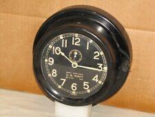 CHELSEA U.S.NAVY MK1 DECK CLOCK~6 INCH DIAL~WW2~1943~RESTORED
