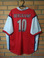a7266e4d26a Arsenal Home football shirt 1998 - 1999  10 BERGKAMP Size XL jersey soccer  Nike