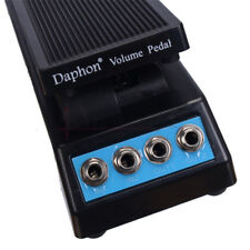 Daphon Guitar Stereo Volume Pedal DJ Guitar Effect Pedal DF1511A daul in & out