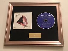 SIGNED/AUTOGRAPHED TEGAN AND SARA - LOVE YOU TO DEATH  FRAMED CD PRESENTATION