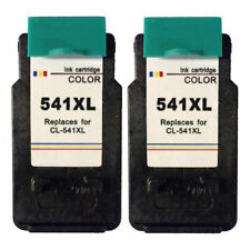 2x CL541XL Colour Refilled Ink Cartridges For Canon PIXMA MG3150 Inkjet Printer