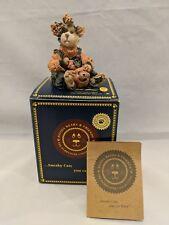 Pawlene Prowler Boyds Bears Purrstone Collection Spooky Treats w box coa 3E/1099