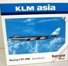 NEW HERPA WINGS 511216 KLM ASIA BOEING 747-400 CITY OF MEXICO 1:500 SCALE MIB