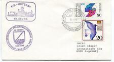 1990 F/S Meteor hamburg Reedereigemeinschaft Forschungsschiffahrt Polar Cover