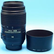 Nikon NIKKOR 2197 55-300mm f/4.5-5.6 VR AF-S ED Lens EXC++++/Cap & Hood