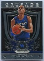 PJ Washington Jr Rookie Card 2019 Panini Prizm Draft Picks CRUSADE #95 Kentucky
