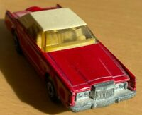 Matchbox Lesney Superfast No 28 Red Lincoln Continental - Near Mint