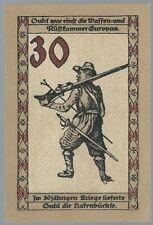 Notgeld - Suhl - Stadt Suhl - 30 Pfennig - 1922 - Rüstkammer Europas  - Bild 2