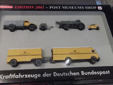Wiking Edition 2001 PMS Kraftfahrzeuge der Deutschen Bundespost  mit OVP  1:87