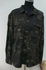 Mens Red Herring Camouflage shirt, Lightweight Jacket Large