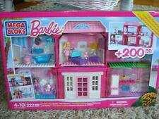 Barbie Build 'n Play Fab Mansion by Mega Bloks +200 Pieces  NIB