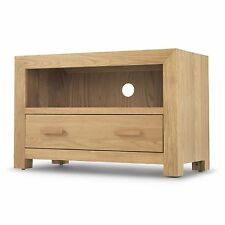 Holmfield oak furniture small television cabinet stand unit