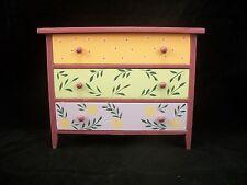 Painted Wide Dresser EWDP2123 Fashion Doll dollhouse furniture 1/6 & 1/8 Scale