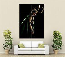 Los Vengadores A3 Loki Movie Poster Promo 5
