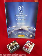 Panini Champions League 2006/2007 Satz komplett + Album = alle Sticker CL 06/07