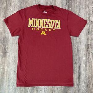 Minnesota Golden Gophers Hockey Fanatics T Shirt Youth Size XL