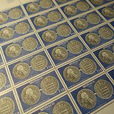 FEUILLE SHEET MONACO N°1231 x30 NUMISMATIQUE ÉCU D'ARGENT 1980 NEUF ** MNH