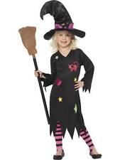 Cendre Costume Sorcière, Halloween ENFANTS Déguisement, M Âge 7-9, Filles