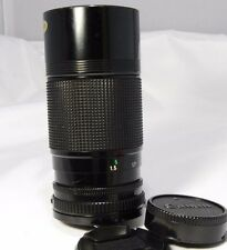 Canon 70-150mm f4.5 ZOOM FD manual focus Lens Used